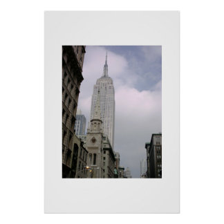 Empire State Building NYC Posters