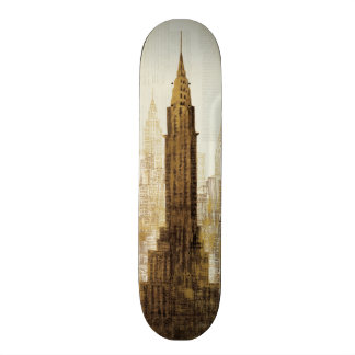 Empire State Building NYC Skateboard