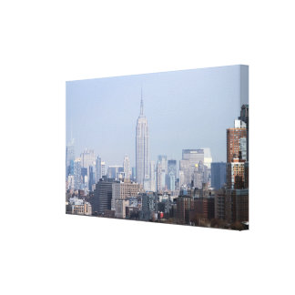 Empire State Building NYC USA Stretched Canvas Print