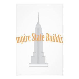 Empire State Building Papeleria De Diseño