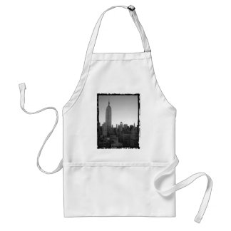 Empire State Building Photo 2 Adult Apron