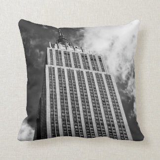 Empire State Building Photo, New York City Throw Pillow