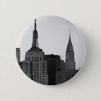 Empire State Building Photo Pinback Button