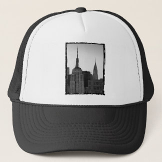Empire State Building Photo Trucker Hat