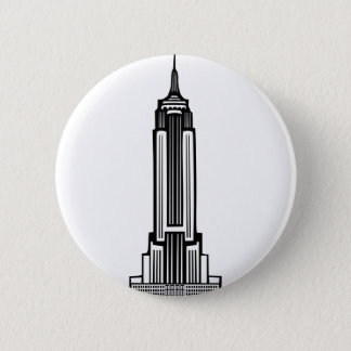 Empire State Building Pinback Button
