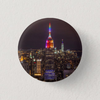 Empire State Building Pride Button