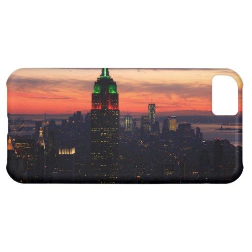 Empire State Building - puesta del sol 01 de los c