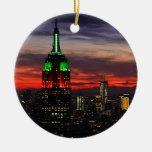 Empire State Building - puesta del sol 02 de los Adorno De Reyes