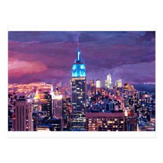 Empire State Building que siente como un gigante a Postal