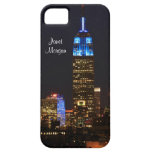 Empire State Building, roca 30 en el azul para el iPhone 5 Carcasa