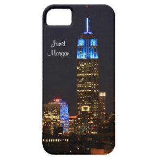 Empire State Building, roca 30 en el azul para el iPhone 5 Funda