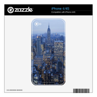 Empire State Building Skin For iPhone 4