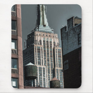 Empire State Building Skyscraper Photo Mousepads