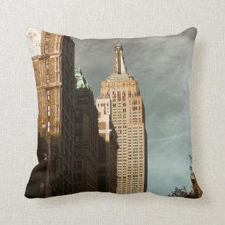Empire State Building Skyscraper Photo Pillows