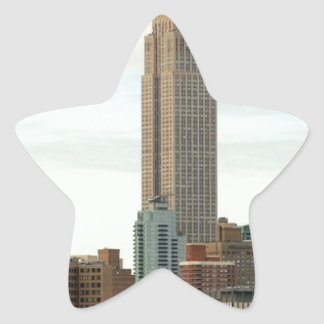 Empire State Building Star Sticker