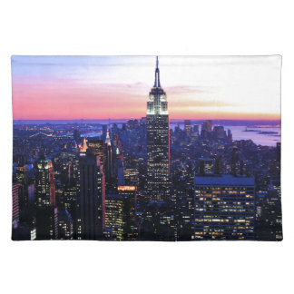 Empire State Building: Sunset Cloth Placemat