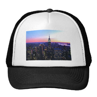 Empire State Building: Sunset Mesh Hats