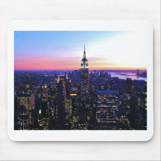 Empire State Building: Sunset Mousepad