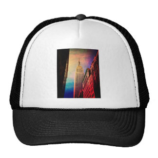 Empire State Building - Surreal - New York City Trucker Hats
