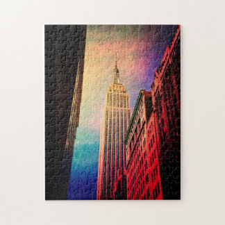 Empire State Building - Surreal - New York City Jigsaw Puzzle