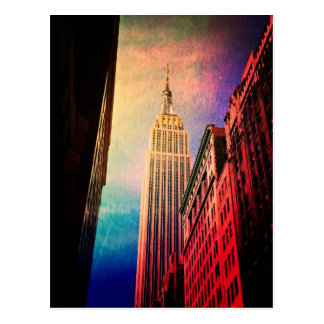 Empire State Building - Surreal - New York City Postcard