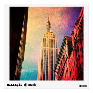 Empire State Building - Surreal - New York City Wall Sticker