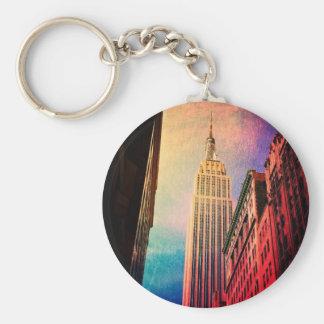 Empire State Building - surrealista - New York Cit Llavero Personalizado