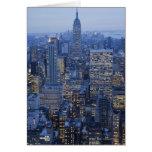 Empire State Building Tarjeta De Felicitación