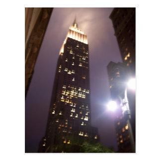 Empire State Building Tarjeta Postal