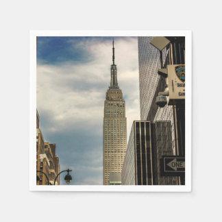 Empire State Building Paper Napkins