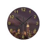 Empire State Building, tiburón-como acercamientos Relojes