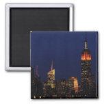 Empire State Building vestido para Halloween B1 Imán De Frigorífico
