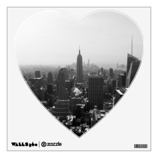 Empire State Building view from Rockefeller Wall Sticker