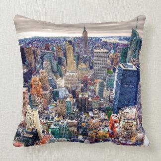 Empire State Building y Midtown Manhattan Cojin