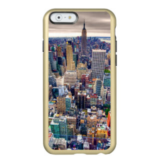 Empire State Building y Midtown Manhattan Funda Para iPhone 6 Plus Incipio Feather Shine