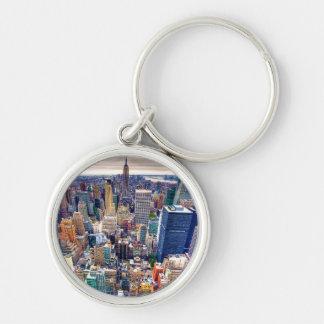 Empire State Building y Midtown Manhattan Llavero Personalizado