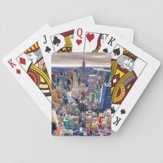 Empire State Building y Midtown Manhattan Cartas De Póquer