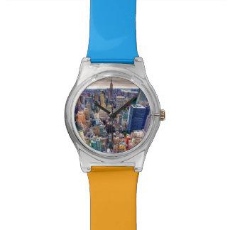 Empire State Building y Midtown Manhattan Reloj