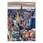 Empire State Building y Midtown Manhattan Tarjetas