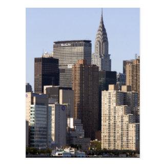 Empire State Building y New York City nuevos Postales