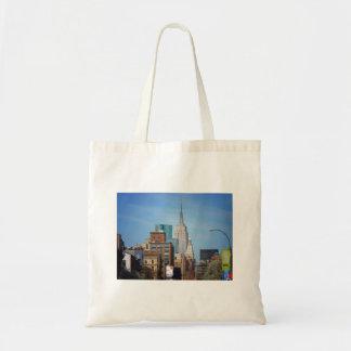 Empire State Building y NYC céntrico Bolsas De Mano