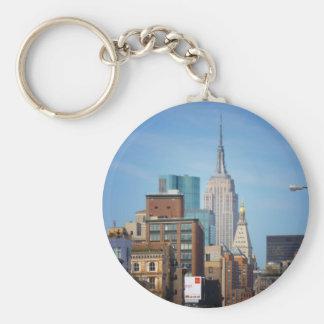 Empire State Building y NYC céntrico Llaveros