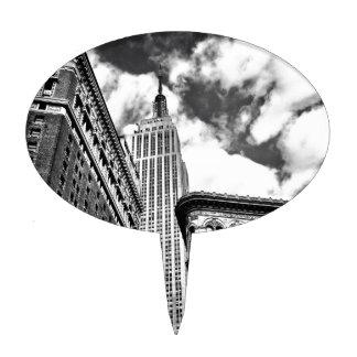 Empire State Building y rascacielos Figuras Para Tartas