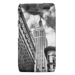 Empire State Building y rascacielos Droid RAZR Carcasa
