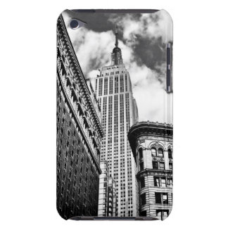 Empire State Building y rascacielos Barely There iPod Carcasa