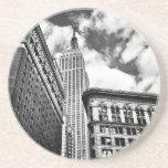 Empire State Building y rascacielos Posavasos Cerveza