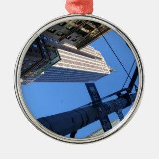 Empire State. Metal Ornament