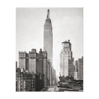 Empire State & Midtown Manhattan, 1931 Canvas Print