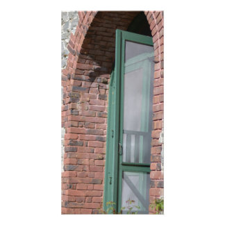 Empire State Mine Park Side Door Personalized Photo Card