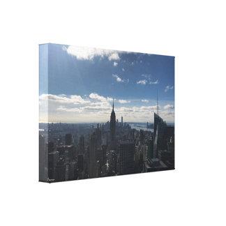 Empire State New York Canvas Manhattan